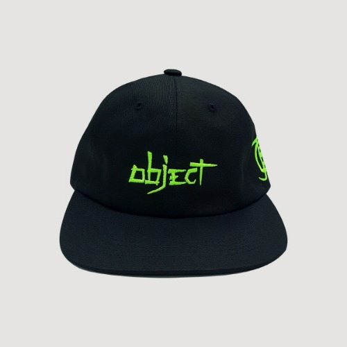 3bf07f14e9962  OBJECT  OBJECT 2019 LOGO CAP - BLACK