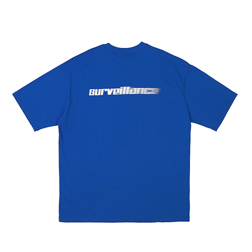 [RENDEZVOUZ] SURVEILLANCE T-SHIRTS BLUE