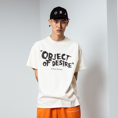 [OBJECT] OBJECT OF DESIRE T-SHIRT - BEIGE
