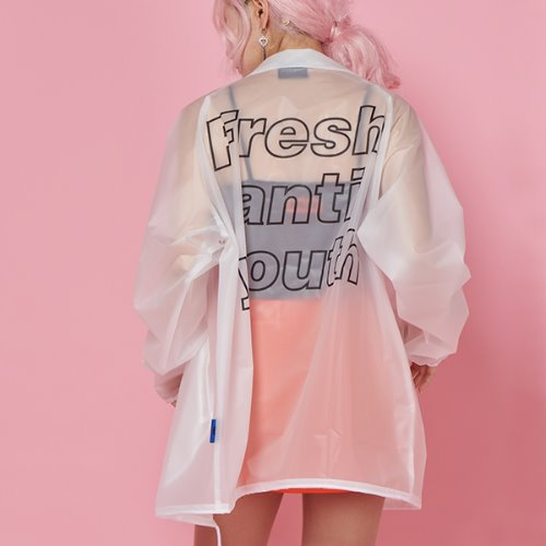 FRESH COACH JACKET - WHITE