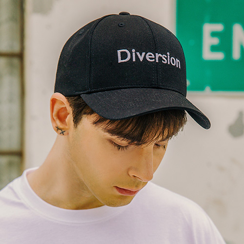 [LAMODECHIEF] LAMC DIVERSION BALL CAP (BLACK)
