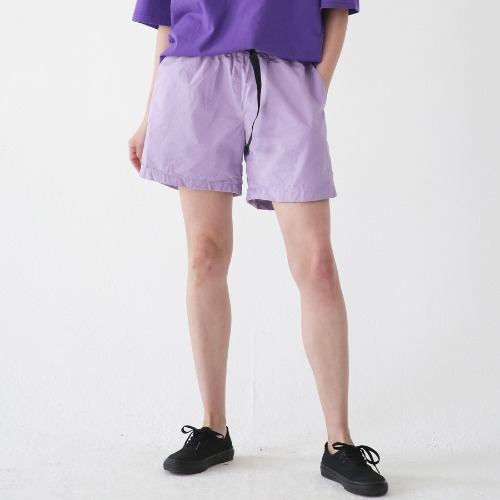 [ARDOROBE] WASHING BELT SHORTS ASP182001-PP