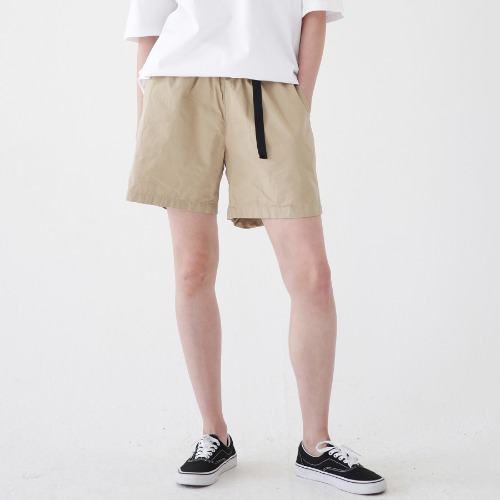 [ARDOROBE] WASHING BELT SHORTS ASP182001-BG