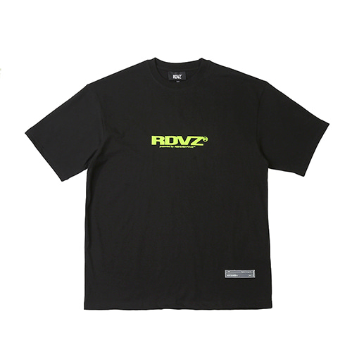 [RENDEZVOUZ] BIG LOGO T-SHIRTS BLACK