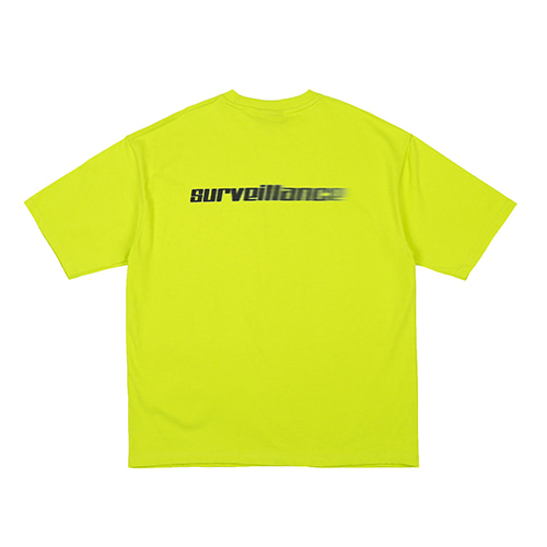 [RENDEZVOUZ] SURVEILLANCE T-SHIRTS LIME