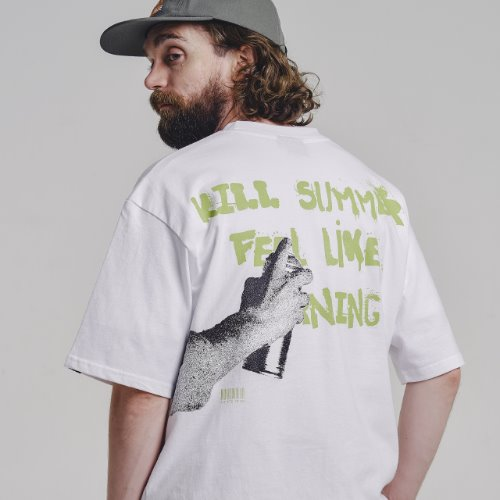 [STAGE NAME] KILL SUMMER HF tee_WHITE