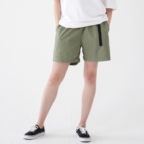 [ARDOROBE] WASHING BELT SHORTS ASP182001-KK
