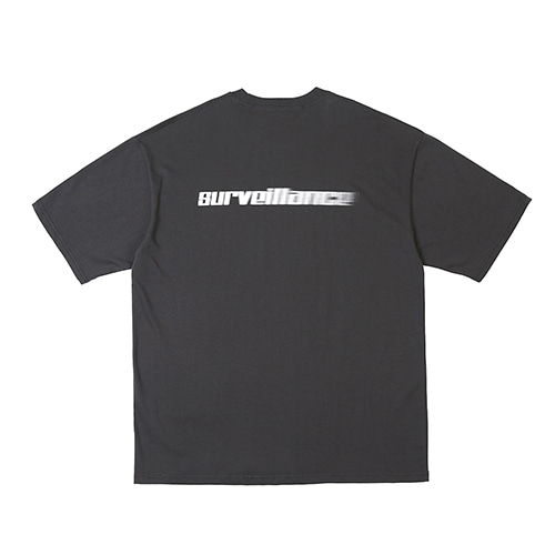 [RENDEZVOUZ] SURVEILLANCE T-SHIRTS CHARCOAL