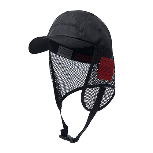 [STIGMA]CALIPH ASH FISHING CAP - BLACK
