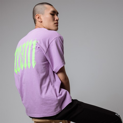 [OBJECT] DREAM T-SHIRT - PURPLE