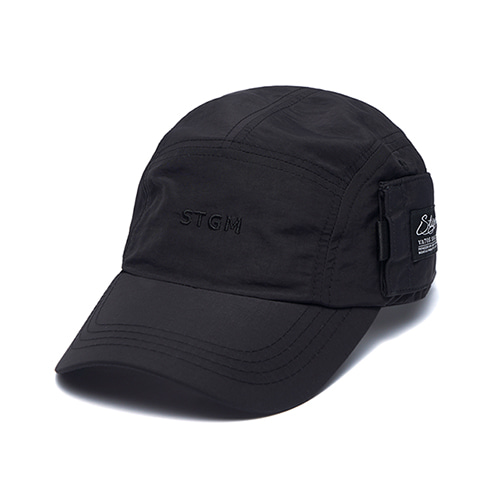[STIGMA]STGM POCKET CAMP CAP - BLACK