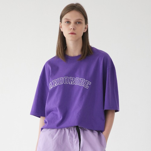 [ARDOROBE] ARCH LOGO OVERFIT TEE ATS182206-PP