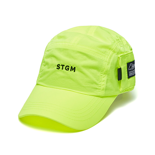 [STIGMA]STGM POCKET CAMP CAP - NEON GREEN