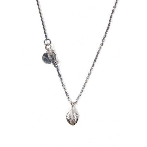 [AGINGCCC] 347# SMALL FEATHER NECKLACE