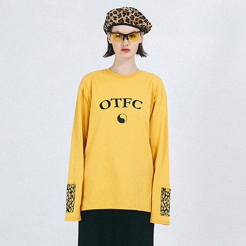 [outofcircle] leopard point tee (yellow)