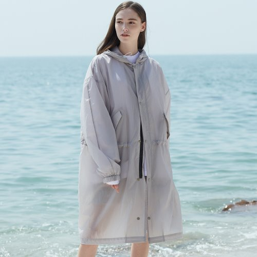 [ANOUTFIT] UNISEX RAIN FIELD JACKET GREY