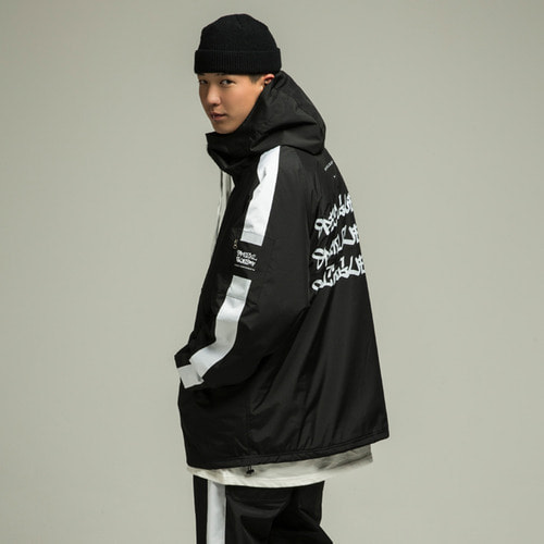 [SPECIALGUEST] TRIPLE LOGO Anorak Jacket BW