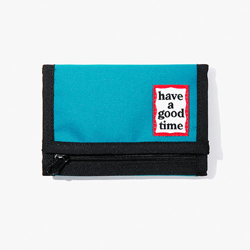 [Have a good time] Frame Wallet - Peacock