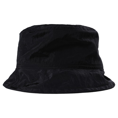 [낫포너드] Nylon Metal Bucket Hat - Black