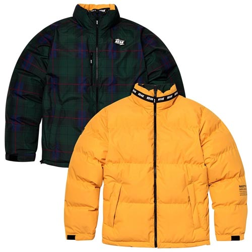 [NSTK] MAZE REVERSIBLE DOWN JACKET YELLOW (NK18A002H)