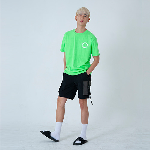 [YESEASY] ZOOMGRAPHIC T_SHIRT - LightGreen