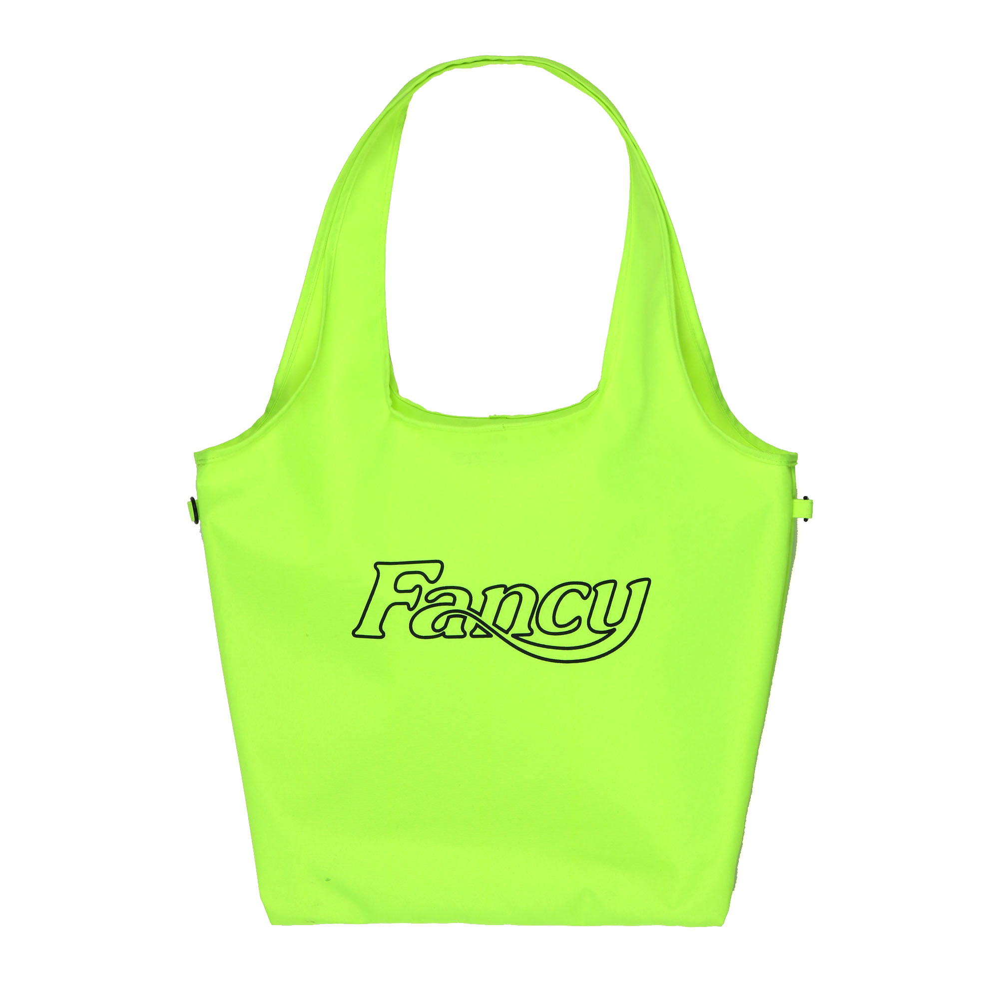 [NF] FANCY LOGO ECO BAG GREEN (NF19S087H)