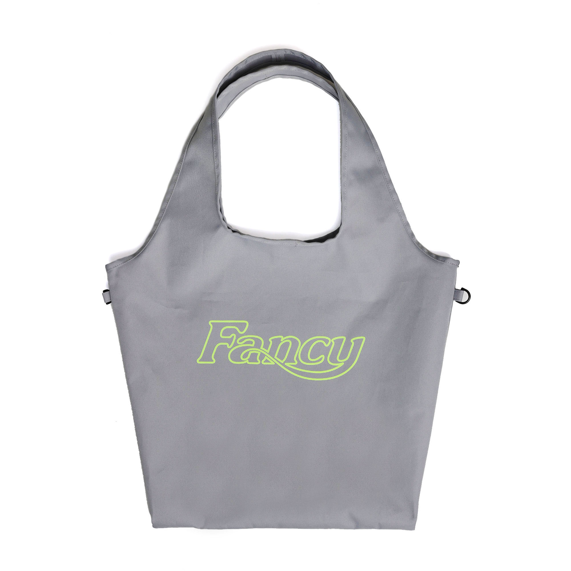[NF] FANCY LOGO ECO BAG GRAY (NF19S087H)