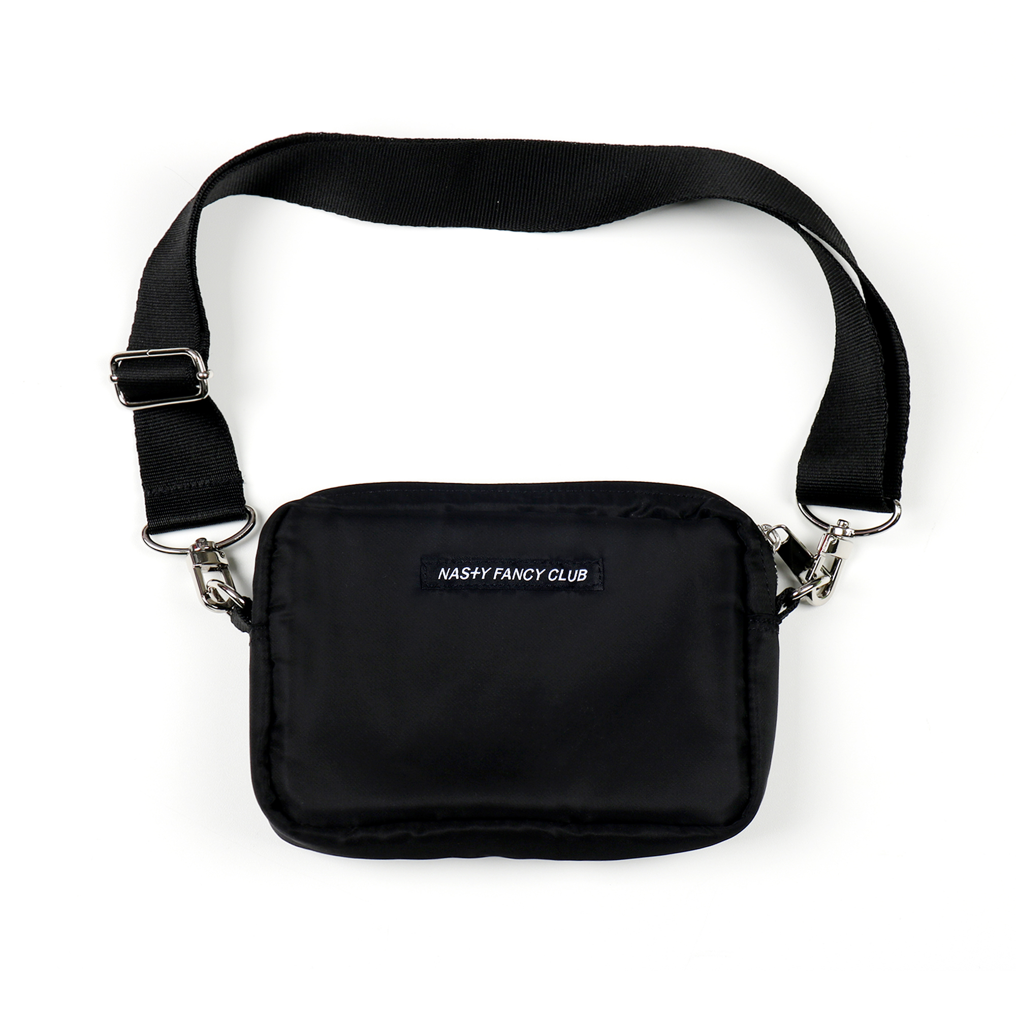 [NF] FANCY POUCH CROSS BAG BLK (NF19S086H)