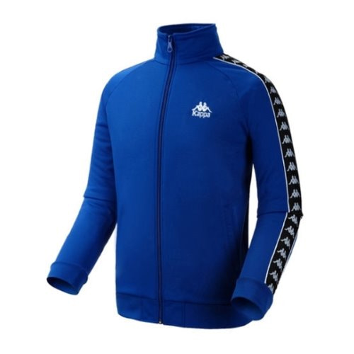 [Kappa] KIFT452MN FLEECE ZIP-UP JACKET - BLUE