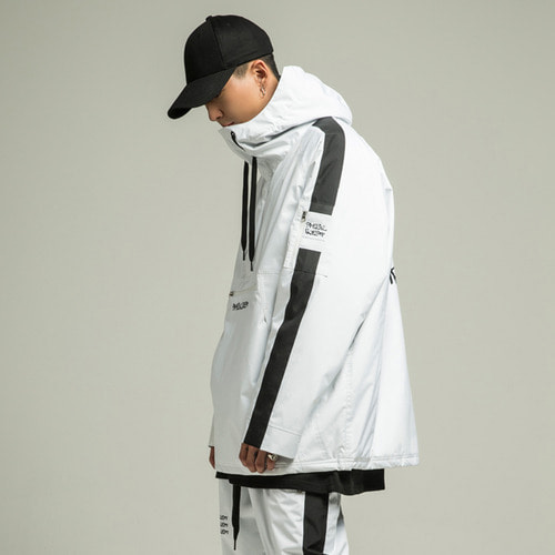 [SPECIALGUEST] TRIPLE LOGO Anorak Jacket WB