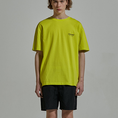 [viva studio] LOCATION LOGO SHORT SLEEVE IS [NEON]