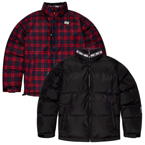 [NSTK] MAZE REVERSIBLE DOWN JACKET BLACK (NK18A002H)