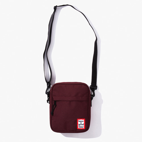 [해브어굿타임] FRAME SHOULDER BAG - WINE