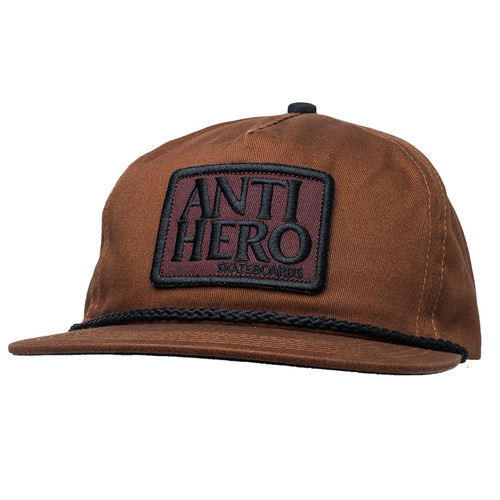 [Anti Hero] RESERVE PATCH SNAPBACK - DARK BROWN