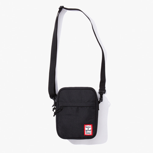 [해브어굿타임] FRAME SHOULDER BAG - BLACK