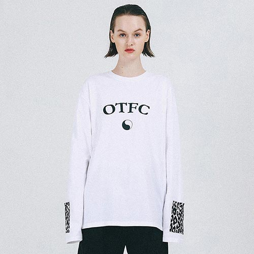 [outofcircle] leopard point tee (white)