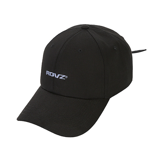 [RENDEZVOUZ] STRING BALL CAP BLACK