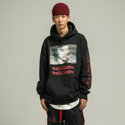 [SPECIALGUEST] CHE Hooded Sweatshirts BK