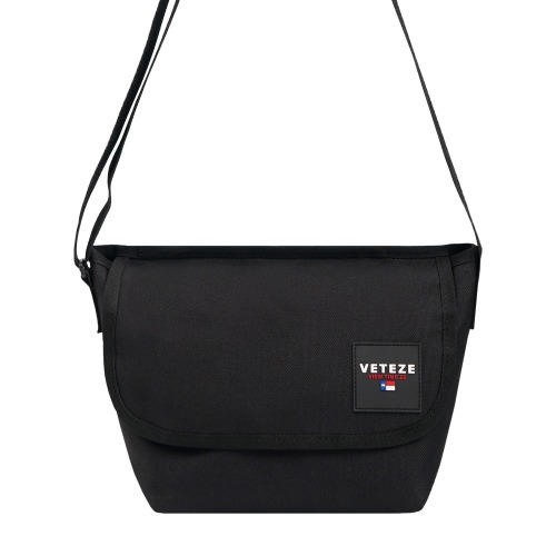 [VETEZE] Retro Mini Cross Bag (black)
