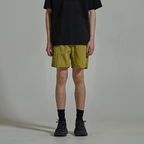 [viva studio] MINIMAL SHORTS IS [OLIVE]