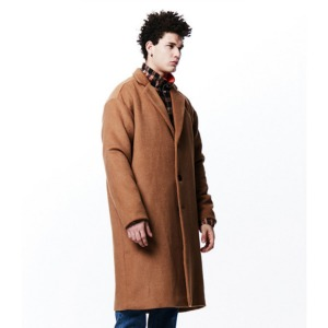 [OVERTHEONE][048] OVERT FIT HEAVY WOOL COAT