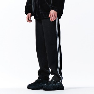 [OVERTHEONE][030] SIDE DOUBLE LINE TRACK PANTS