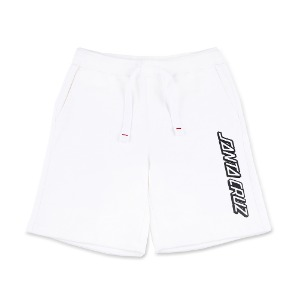 [SANTA CRUZ]  Classic Strip alto shorts - White