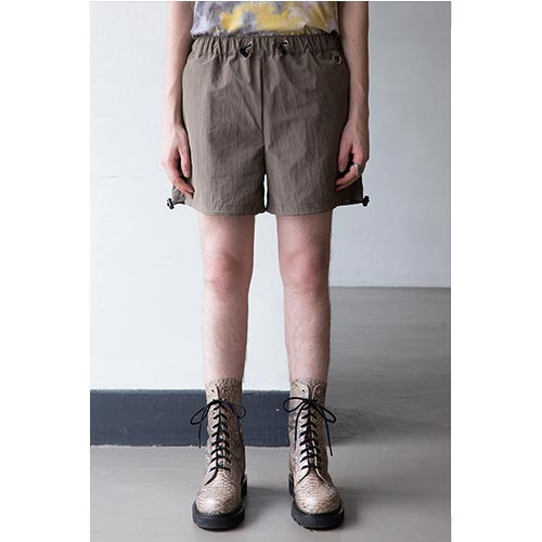 [ANOTHERYOUTH] logo short pts - BROWN