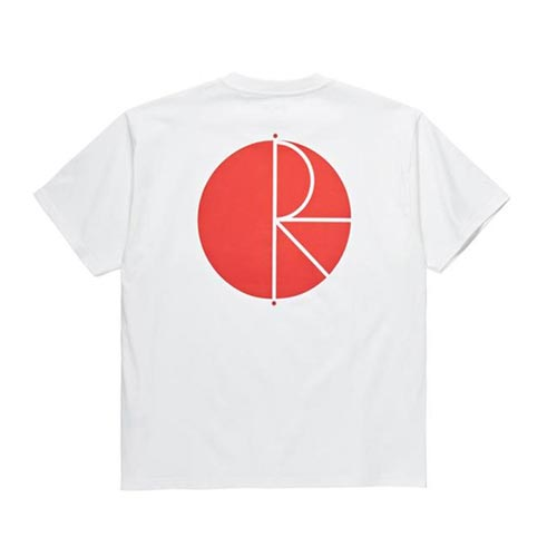 [폴라스케이트] Fill Logo Tee - WHITE/RED