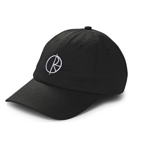 [폴라스케이트] Stroke Logo Caps - BLACK
