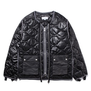 [KING]Quilted Jacket -Black