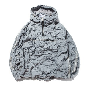 [킹아카이브] Crinkled Anorak Jacket -Grey