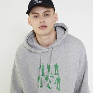 Toy Soldier Hoody - Grey