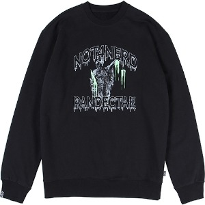 [낫포너드] N-Justitia Crewneck - Black